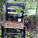 Garden Chair - Large Poster Print