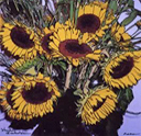 Sunflowers Bouqet - Large Poster Print